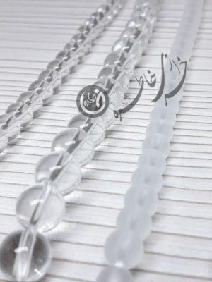 انیکس شیشه ای مات و شفاف انیکس یخی اونیکس دستبند اونیکس